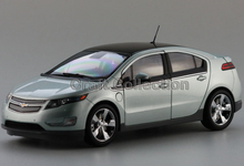 Silver Chevrolet Volt 2014 Hatch Back 1:18 Diecast Model Car Kits Miniature Vehicle Simulation Limited Edition By Kyosho