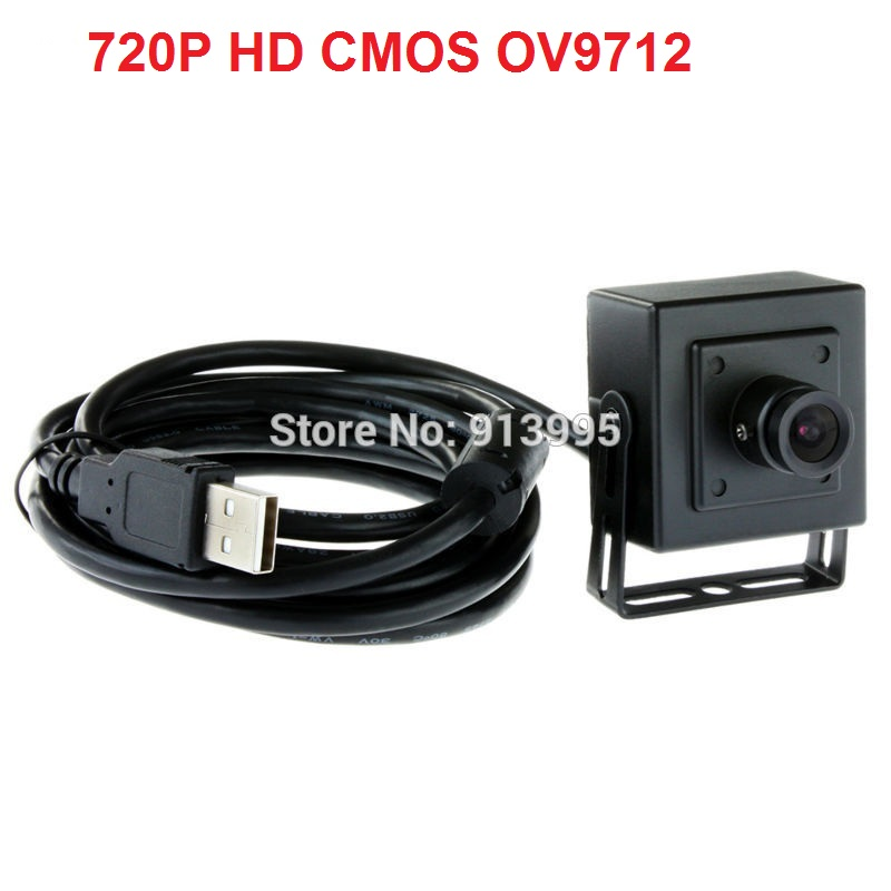 ФОТО Top selling New ELP 1.0 megapixel 720P indoor mjpeg &YUY2  cmos OV9712 mini cctv uvc  hd usb webcam android with 2.8mm lens