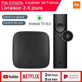 Xiaomi MI Box 3 Android TV 8.0 2G+8G Support BT Dual-Band WIFI Google Certified Voice Search MI Box 3 Android TV 8.0 MI Box 3
