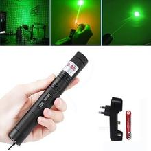 Groene Laser sight High Power jacht Groene Dot tactische 532 nm 5 mW 303 laser pointer verde lazer Pen Hoofd brandende Lucifer