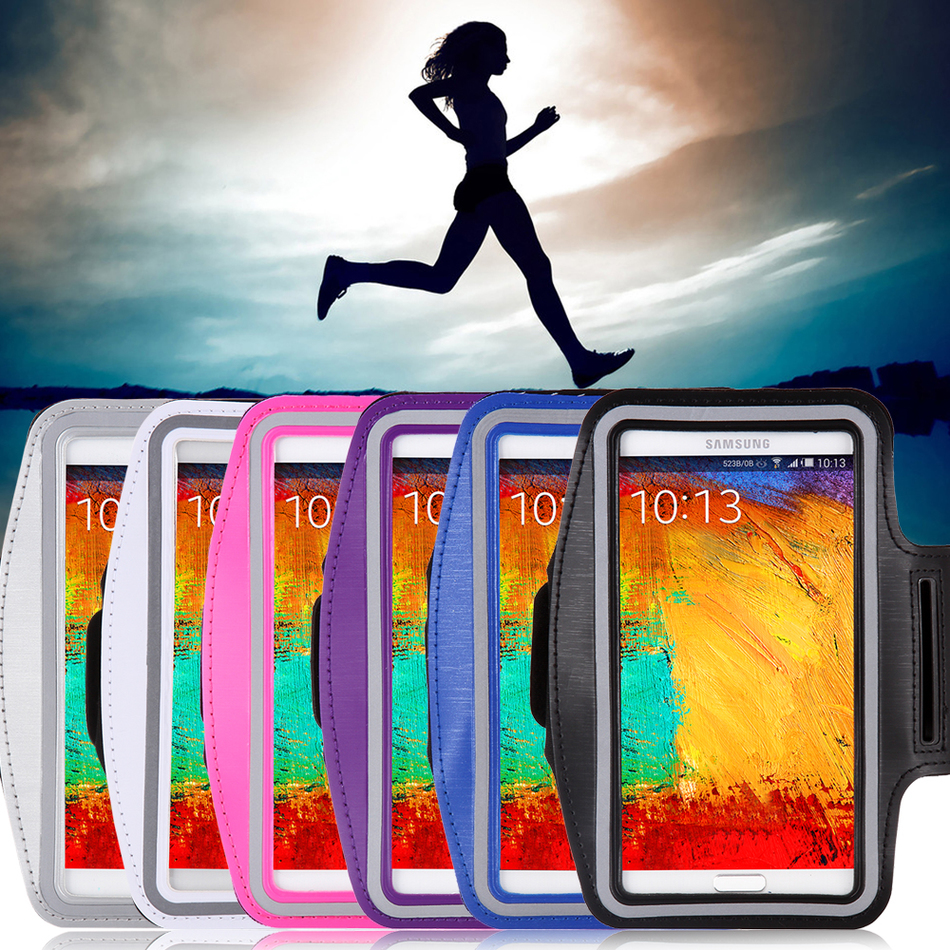 Waterproof Sports Running Workout Arm Band Cases 5.5inch for Huawei MaiMang4 Mate S iPhone 6 6s 7 Plus LG G Flex 2 H959 Cover