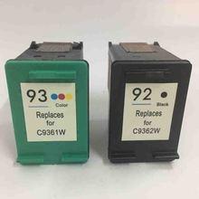For HP 92 93 Compatible Ink Cartridges Photosmart C3100 7830 C3140 C3180 Deskjet 5440 C3175 PSC 1507