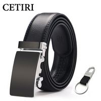 2017 Businese Cow Genuine Leather Belts For Men Top Quality Automatic Buckle Belts Mens Wedding Gift
