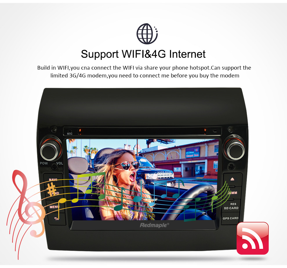 """Image 4 - 8 Core 7"""" IPS Android 9.0 Car Stereo For Fiat Ducato CITROEN Jumper PEUGEOT Boxer DVD Player GPS Navigation Wifi FM Multimedia-in Car Multimedia Player from Automobiles & Motorcycles"""