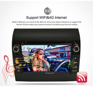 """Image 4 - 8 Core 7"""" IPS Android 9.0 Car Stereo For Fiat Ducato CITROEN Jumper PEUGEOT Boxer DVD Player GPS Navigation Wifi FM Multimedia"""