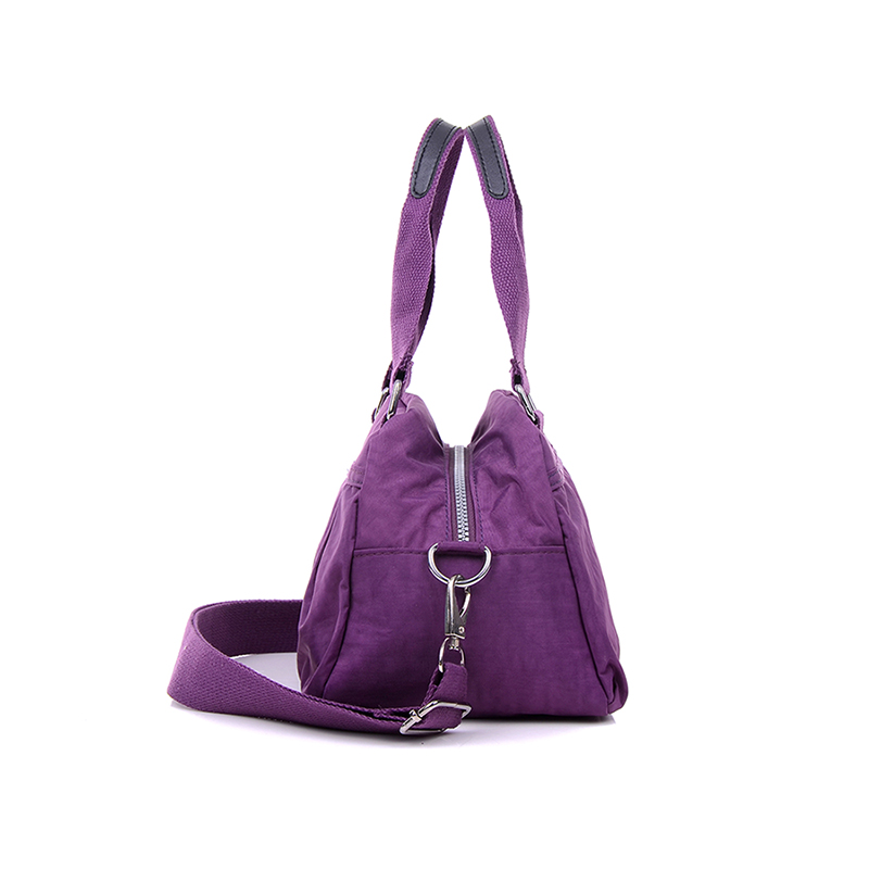 JINQIAOER Dumpling Hobos Designer Women's Handbag & Crossbody Bags Fashion Solid Waterproof Nylon Messenger Bag Ladies Tote Bag