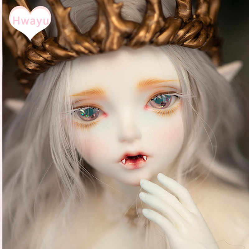 Шарнирная кукла SD baby 1/4 Hwayu Elf Joint doll Free eye с ручной доставкой