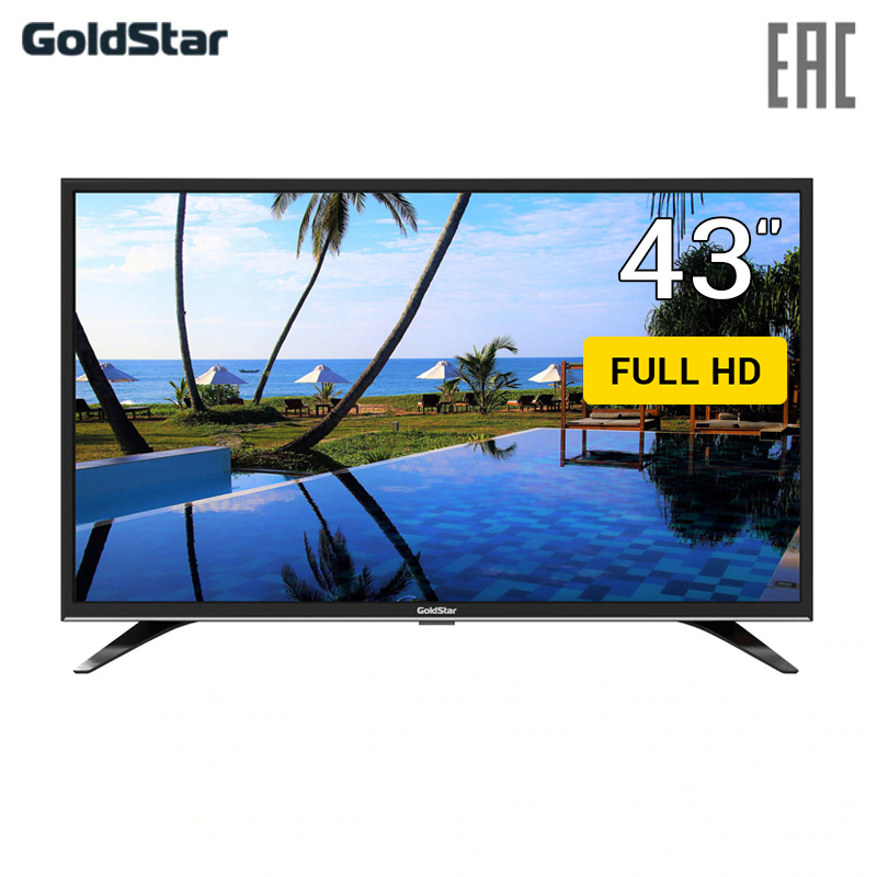 LED TV 43 GoldStar LT-43T510F FullHD 4049inchTV кружка printio justfish