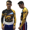 Men 3D The Hornets Printed T Shirts Men Compression Shirt 2018New Long Sleeve Tops Male Crossfit