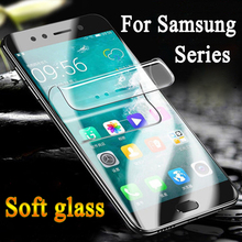 For samsung s9 plus screen protecter s8 protection s6 s7 edge glass sansung s 6 7 8 9 tup protector soft glas film