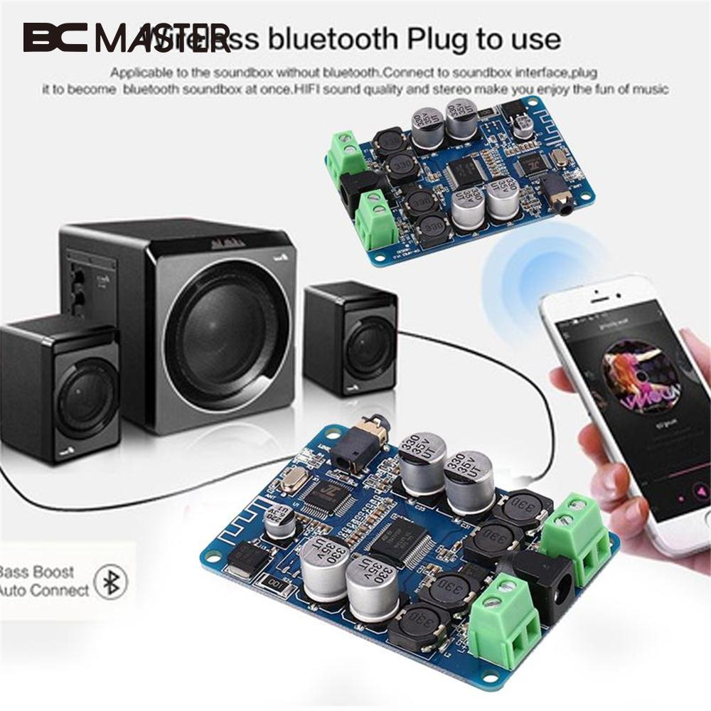 BCMaster Professional High Quality Speaker Bluetooth Amplifier Board Module Receiver Amplifier Audio Board Stereo Accessories