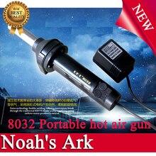 Envío libre! Genuine 8032 desoldar temperatura pistola de aire portátil IC chip de teléfono de la antorcha de mano de reparación de aire caliente que sopla máquina