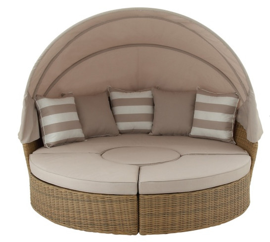 factory direct sale resin outdoor furniture sectional sofa wicker round - Sectional Couches For Sale