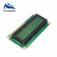1 шт. ЖК-дисплей 1602 ЖК-дисплей 1602 желтый экран с подсветкой ЖК-дисплей дисплей 1602A-5v