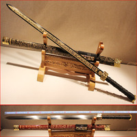 Authentic Longquan Sword Handmade Japanese Samurai Katana Sword Hard Cold Weapon Special Offer Not Open Edge Home Decoration