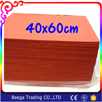 High Temperature Resistant Foaming Silicon Sheet 40 60cm 0 8cm Thickness