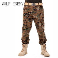 8 Colors Designer Mens Military Camouflage Cargo Pants Army Outdoor Men S Overalls Tactical Trousers For