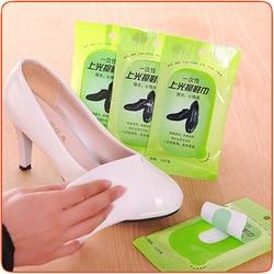 يمكن التخلص منها الأحذية البولندية أحذية من الجلد الرعاية الرعاية الجلدية والمناشف مناديل تنظيف كحول أيزوبروبيلي مناديل الكحول