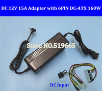 12V 160W 24Pin ATX Switch Pcio PSU Car Auto Mini ITX With AC Converter Adapter DC