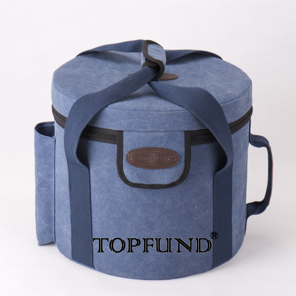 TOPFUND Crystal Bowl Padded Carrying Cases-8 or 10, and12 Singing Bowl -blue Color delicate blue and white jingdezhen porcelain bowl supply 10 sets of good luck word blessing bowl handmade bowl 3320