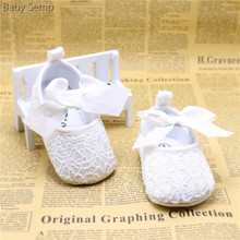white bowknot baby girl lace shoes toddler prewalk flower slip on kids girls party shoes ballet