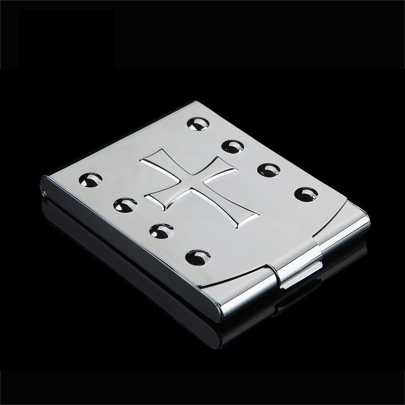 Открытый Высокое качество multi Инструменты легкого металла портсигар 2017 Лидер продаж табак держатель Карманный Box Контейнер для хранения