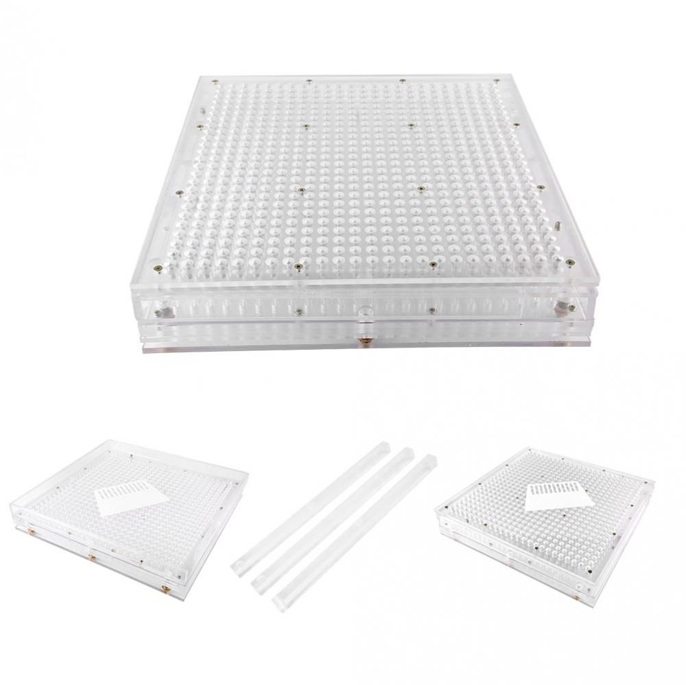 600 Holes Empty Manual Capsule Filler Plates Capsule Filling Machine With Spreader Powder Capsules Filling Tool Size 1#, 0#, 00# цена