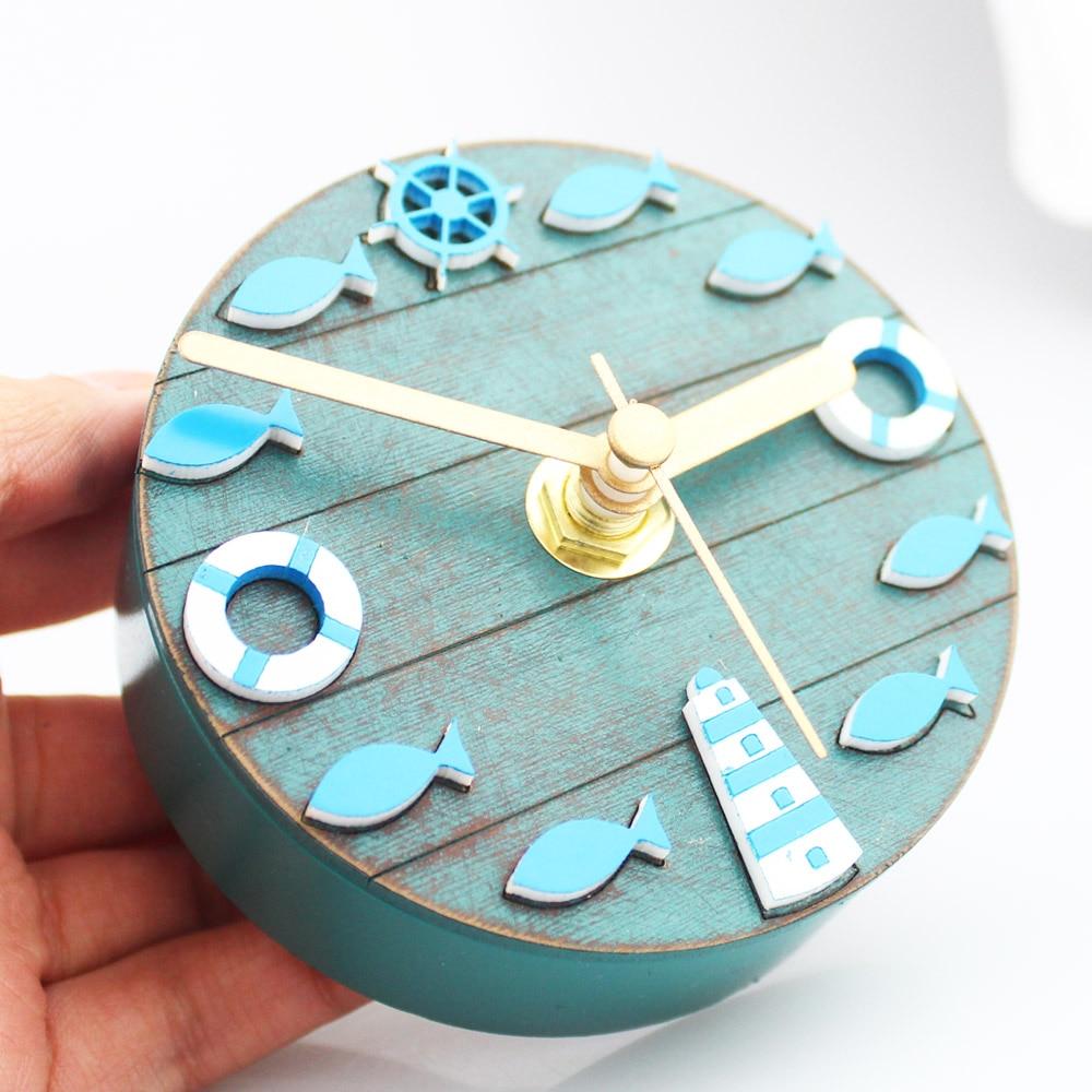 Unique Mediterranean Style Kitchen Refrigerator Fridge Magnet Clock ...