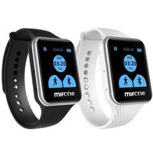 W15 smart watch mit 2.5d gebogene sapphire touchscreen tpsiv anti allergie strap bluetooth smartwatch telefon android uhr