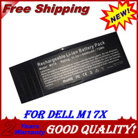 JIGU NEW Laptop Battery 318 0397 7XC9N C0C5M 451 11817 BTYVOY1 For DELL Alienware M17X R3 R4 11.1V 6600MAH