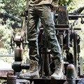 Поп-Новые Горячие мужские камуфляж брюки-карго военные брюки мужчины 2016 компрессионные чулки и колготки армейцы брюки pantalon homme