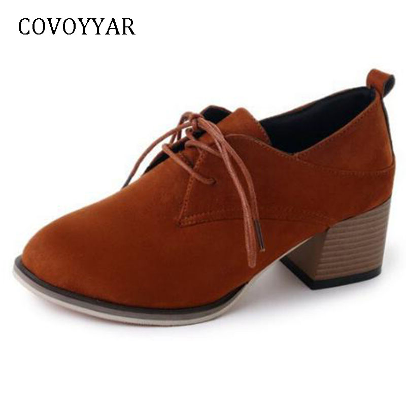 COVOYYAR New 2019 Autumn Pointed Toe Women Pumps Sh