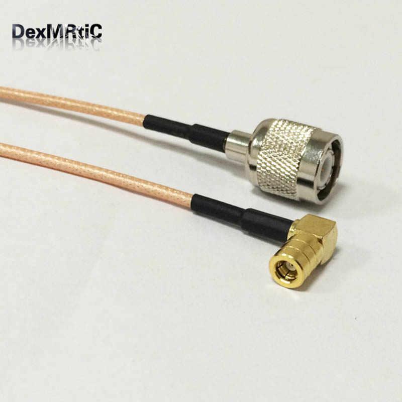 TNC erkek Anahtarı SMB Kadın Dik Açı Pigtail Kablo RG316 Toptan Hızlı Gemi 15 CM kablosuz modem
