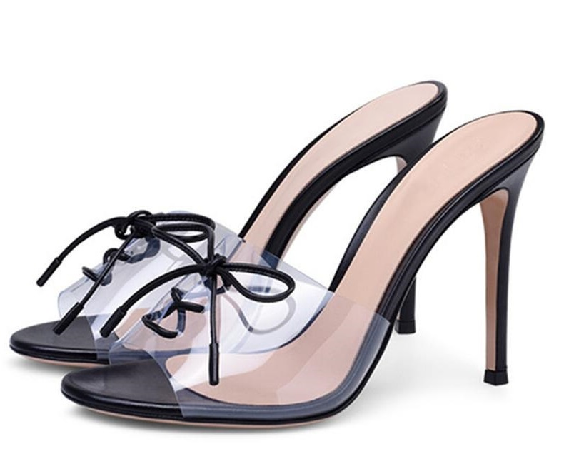 Sexy High Heels Shoes Woman PVC Peep Toe Gladiator Sandals Women Pumps Lace Up Mules Slipper Beach Flip Flops Size 46 Slides size 35 43 women pumps high heels ladies sexy lace up gladiator sandals thin heeled gladiator shoes zapatos mujer shoes woman