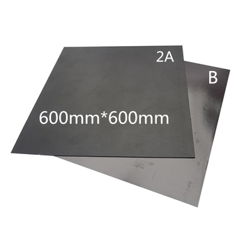 1pcs 3D Printer part 600x600mm Heatbed Magnetic Adhesive sticker Flex Build Plate 2A+B pc insulation film kit