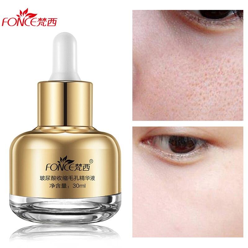 Fonce Shrink pores Liquid Hyaluronic acid Moisturizing Anti Aging Face Serum Repair Remove Blackhead acne Treatment Oil-control