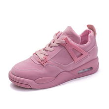 Buy Spring/Autumn Women Shoes Flat Platform Fashion Sneakers Casual Breathable Shoes Woman Lace-up Luxury Ladies Shoes Size 35-41 directly from merchant!