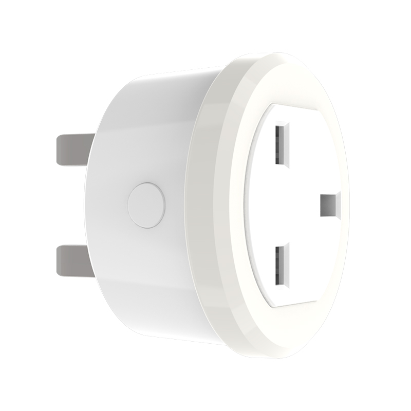 Coolcam Smart UK Plug Support Amazon Alexa Google Home,IFTTT Remote Control WiFi Switch Mini Socket Outlet With Timing Function