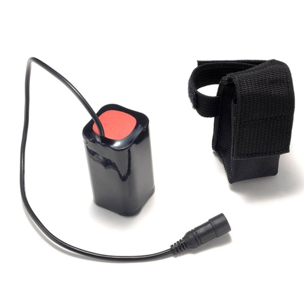 8.4V USB Rechargeable 6400mAh Lithium Battery 4x18650 Battery Pack 3 Hours Highlight For T6 LED Light Bicycle Head Lamp