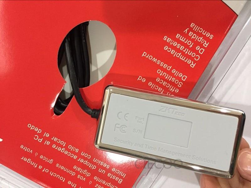 Free shipping Digital Personal USB Biometric Fingerprint Scanner Fingerprint Reader ZK9000 Free SDK