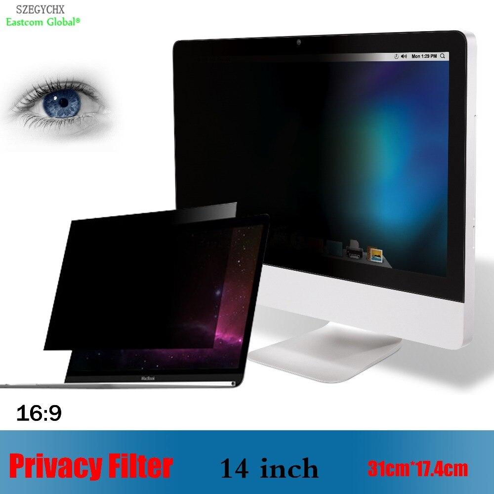GüNstig Einkaufen 14 Zoll Privatsphäre Filter Anti-glare Display-schutzfolie Szegychx Für Notebook 16:9 Laptop 31 Cm 17,4 Cm