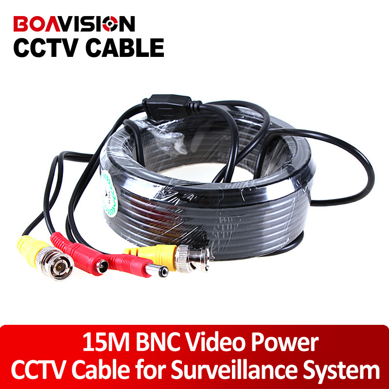 Security CCTV 15 Meter(49ft)  Video Male BNC cable/bnc video output cable for CCTV bnc м клемма каркам