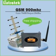 2017 Nouveau produit Répéteur 2G GSM 900 MHz Mobile Signal Booster ensemble complet avec extérieure yagi antenne + intérieur fouet antenne + 10 m câble