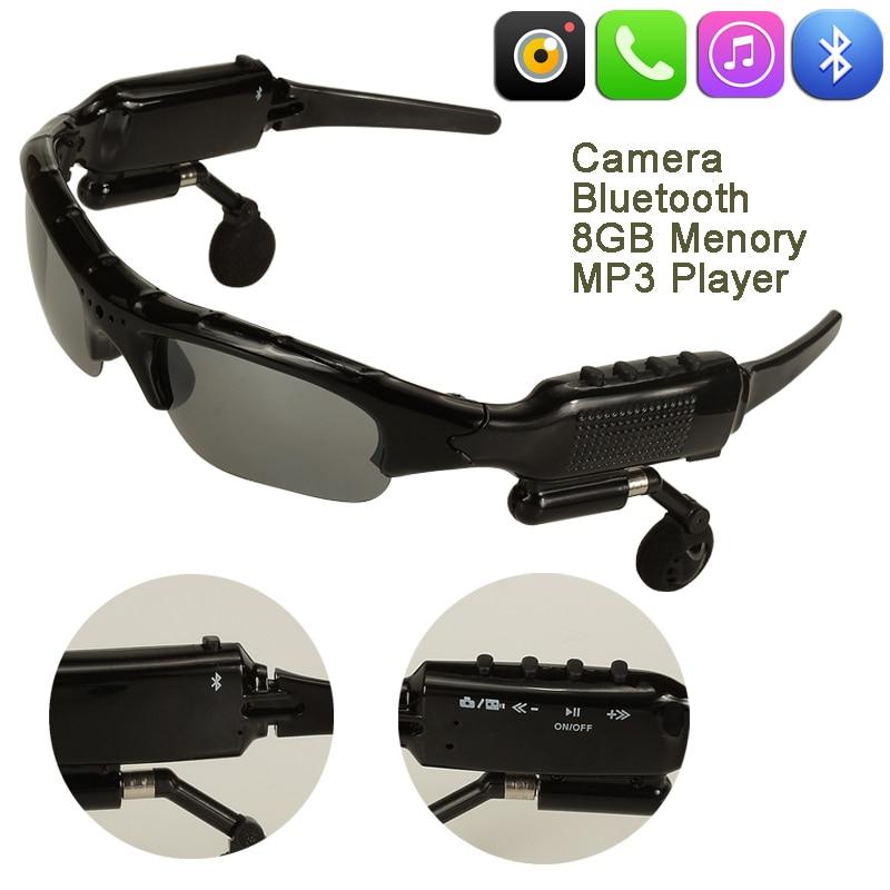 10pcs lot Oculos Espiao Mini Camcorders Glasses Micro Camera Espia Cam  Sunglasses DVR DV Recorder Camara Digital-in Mini Camcorders from Consumer  ... 57c458e350