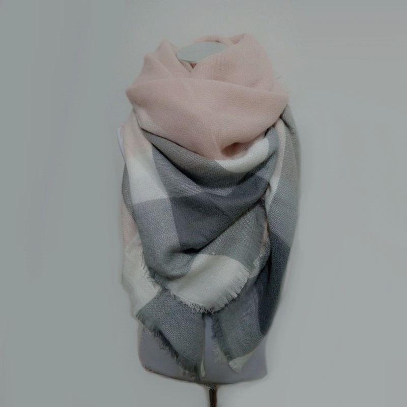 za ziemas šalle Tartan šalle sievietēm Pleds šalle cuadros Jauns - Apģērba piederumi