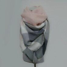 za winter scarf Tartan Scarf women Plaid Scarf cuadros New Designer Unisex Acrylic Basic Shawls warm