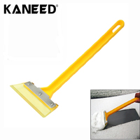 Mini Car Snow Scraper Shovel Ice Scrapers Cleaning Tools ABS Handle Stainless Steel Removing Brush Accessories