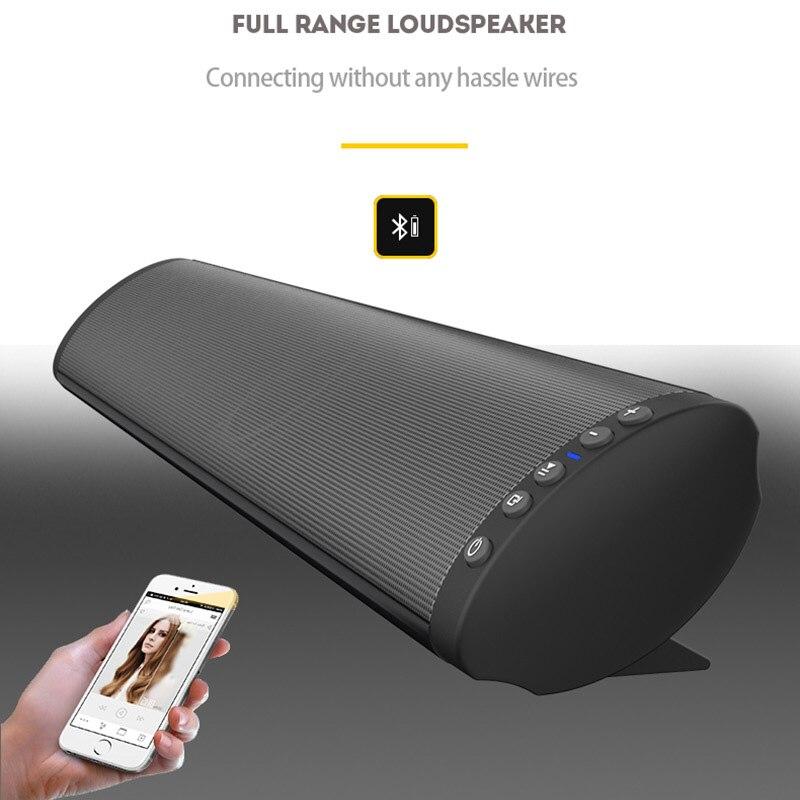 Latest Bluetooth 5.0 Soundbar Speaker Powerful TV Home Theater Sound Bar with Remote Control/Optical Cable/RCA/AUXLatest Bluetooth 5.0 Soundbar Speaker Powerful TV Home Theater Sound Bar with Remote Control/Optical Cable/RCA/AUX