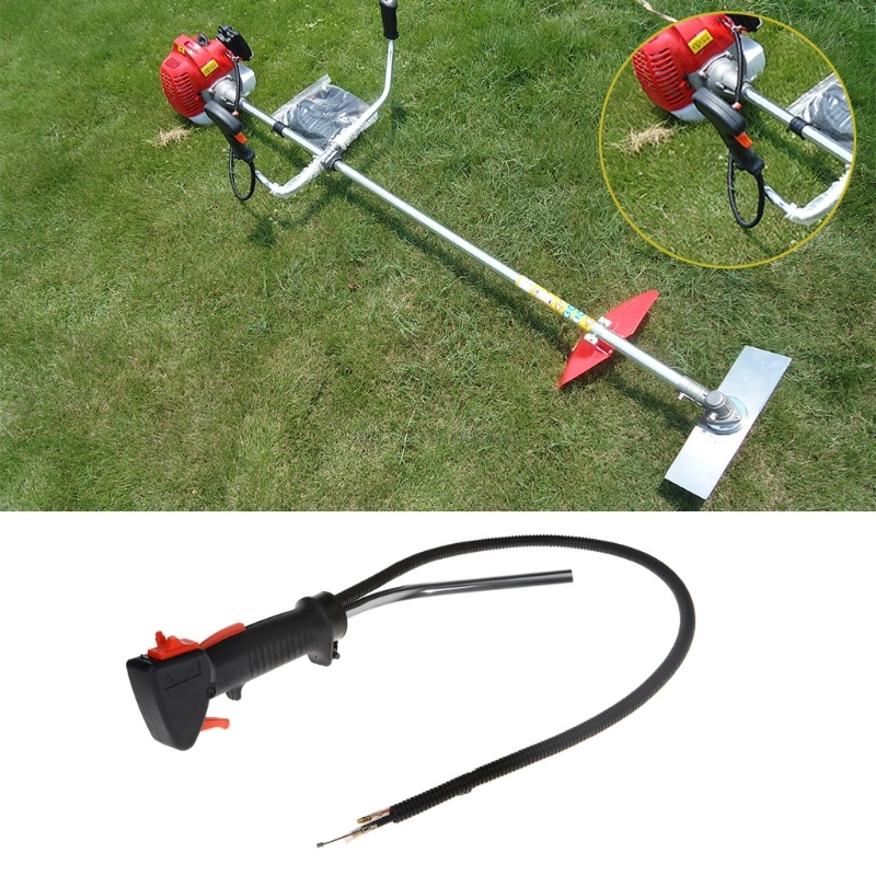 Throttle Handle Switch Right Control For Brushcutter Grass Trimmer Lawn Mower