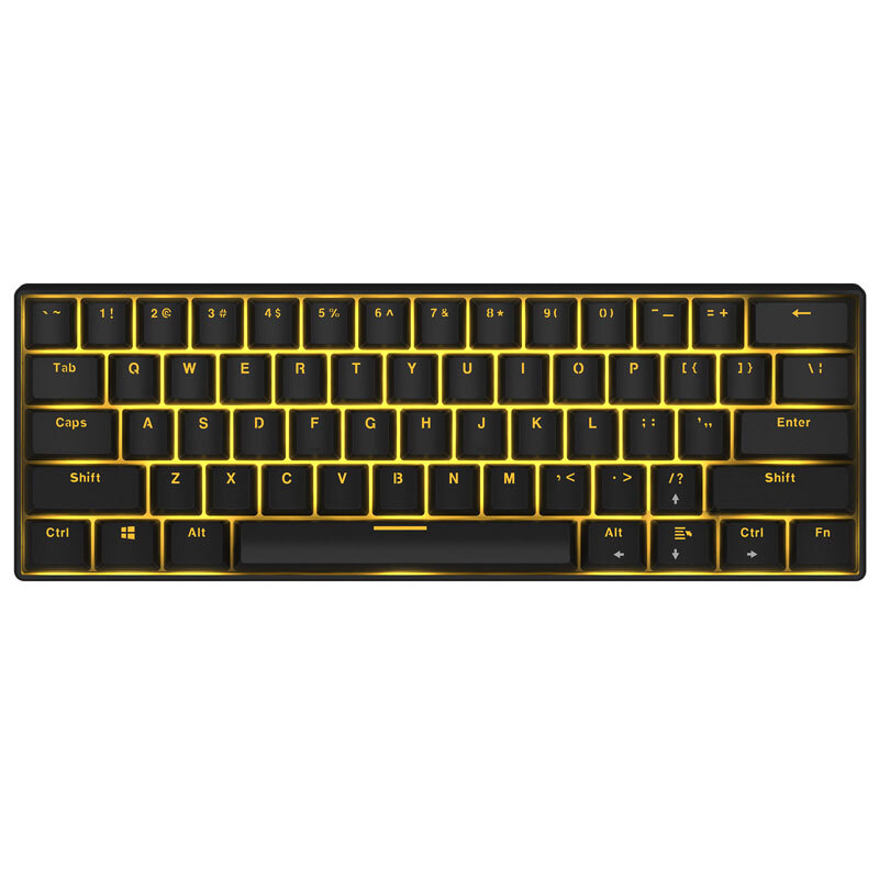 Mini Wireless Bluetooth Backlit Mechanical Keyboard Ergonomic Wired Gaming Mechanical Keyboard Blue/Black/Red/Brown Switch mini bluetooth keyboard 80 keys black